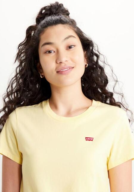 Camiseta Levis Amarilla