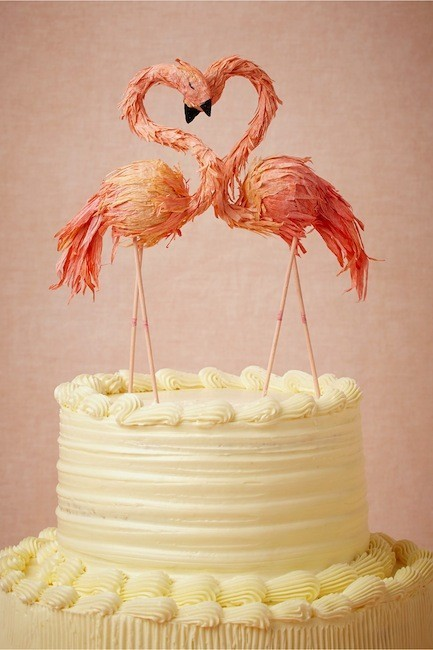 toppers flamingos
