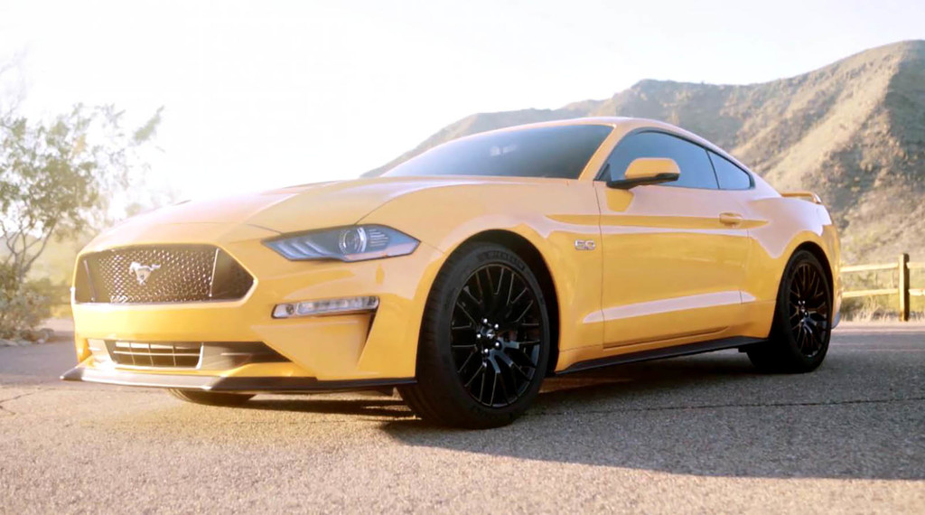 Ford Mustang 2018 restyling