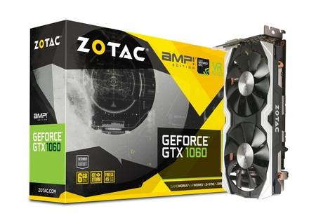 Zotac Geforce Gtx 1060 Amp 6gb Gddr5