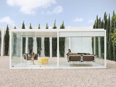 Cristal Box, un refugio transparente de cristal para disfrutar del sol en invierno