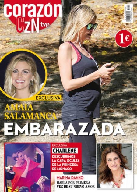 Amaia Salamanca Embarazada