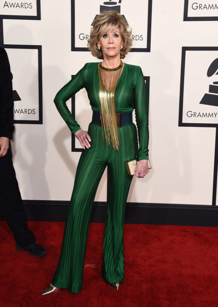 Jane Fonda Grammy 2015