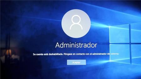 Cuenta De Administrador Windows