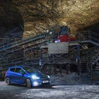 Así se comporta el Ford Fiesta ST en una mina de sal, a 400 metros bajo la superficie