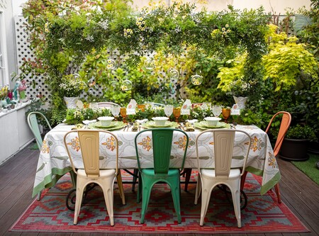 Inspiración para tus mesas de primavera: Sonsoles de la Peña prepara una mesa para Vista Alegre y Bordallo Pinheiro