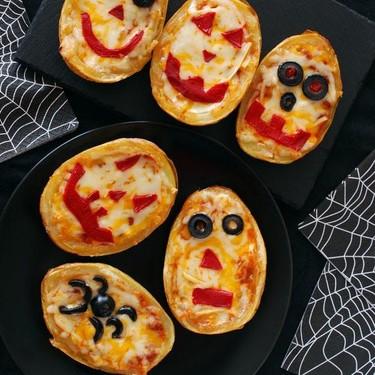 Patatas rellenas monstruosas: receta de Halloween
