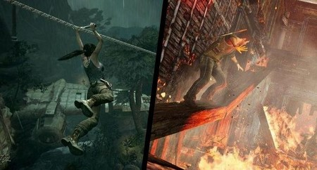 Tomb Raider x Uncharted