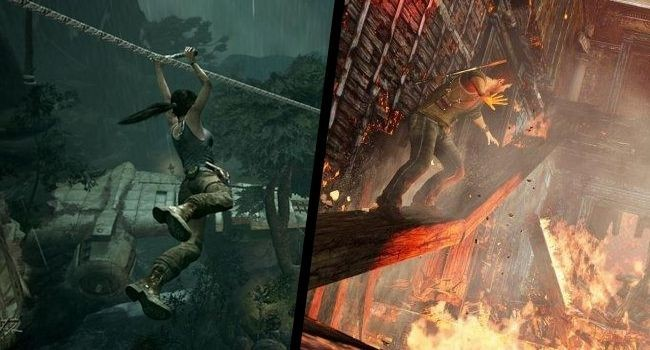 Tomb Raider x Uncharted