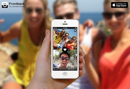 Saca ambos lados de la cámara con Frontback para iOS