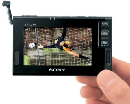 Sony XDV-D500 y XDV-G200  televisor Bravia de tamaño diminuto y radio