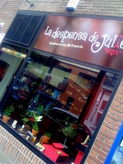 Gastronomía francesa en La Despensa de Julie