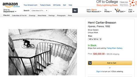 Amazon se lanza a la venta de copias fotográficas