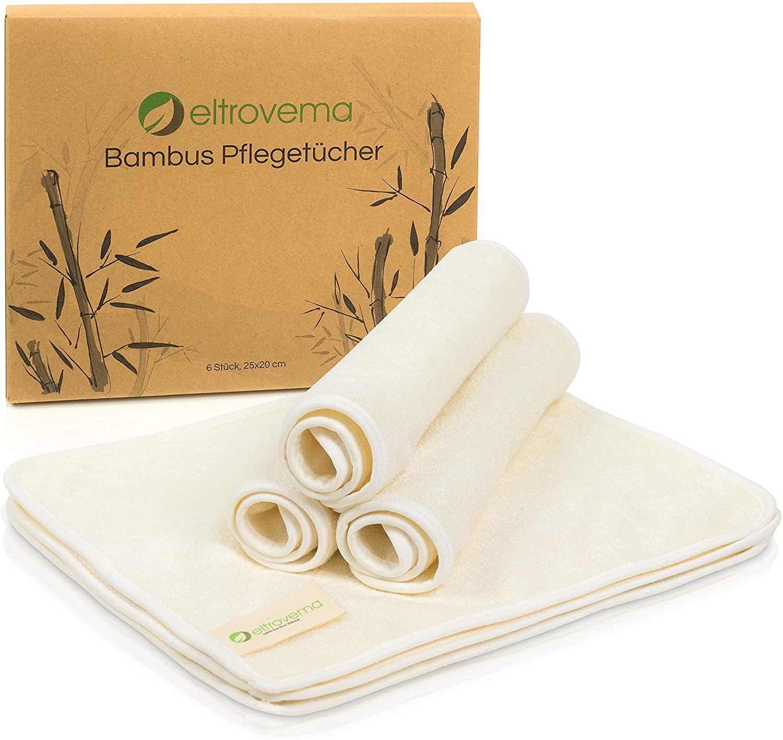 Toallitas de bambú para limpieza de la piel Eltrovema