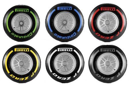Pirelli anuncia los compuestos para los tres primeros grandes premios