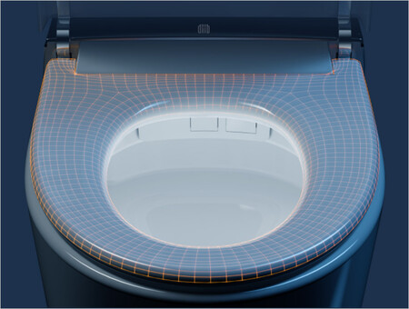 Great White Smart Toilet 1