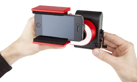LomoKino Smartphone Holder, para convertir películas de 35mm a digital
