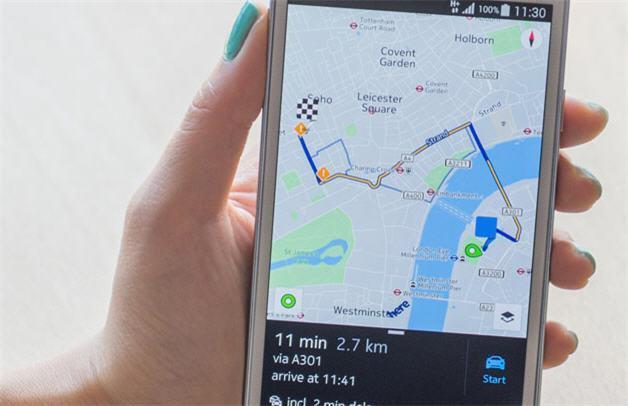 La beta de Nokia HERE ya está disponible para todos los dispositivos Android