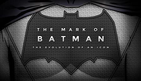 La evolución del traje y el símbolo de Batman, la imagen de la semana