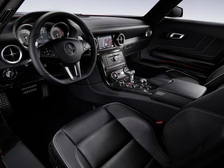 Mercedes SLS AMG, fotos oficiales de su interior