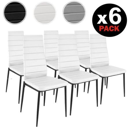 Pack de 6 sillas modernas por s lo 75 95 euros 12 66 - Sillas isabelinas modernas ...