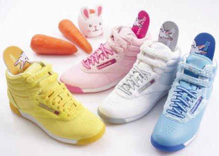Zapatillas Reebok Freestyle Bunny Pack, por el Año Nuevo Chino