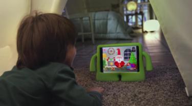 Con Xmas Time los niños podrán vivir una vídeollamada con Papá Noel