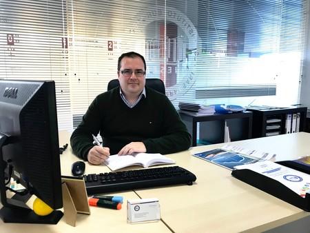 Rogelio Delgado Mingorance En Su Despacho