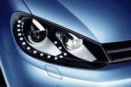 El Volkswagen Golf tendrá nuevos faros delanteros tipo LED