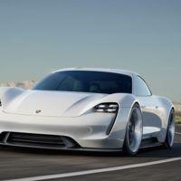 Porsche Mission E Concept. Es 100% eléctrico, carga 400 km en 15 minutos y se controla con la mirada