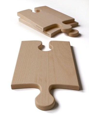 La tabla de cortar puzzle es mas útil de lo que parece