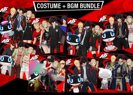 Persona 5 Costume Bgm Bundle