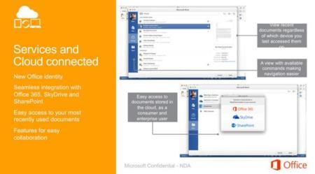 Se filtran nuevas imágenes de Office para Mac y sí, va a ser igual que el de Windows