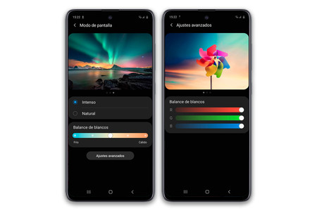 Samsung Galaxy A51 Pantalla Ajustes