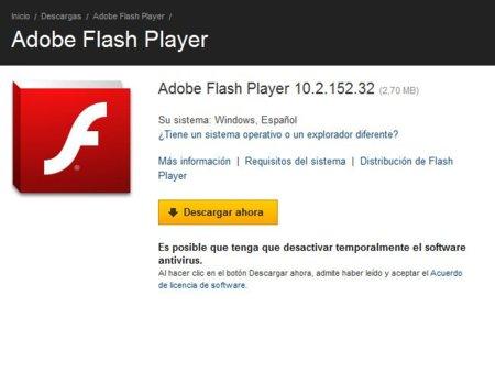 Problema crítico de seguridad en Flash Player