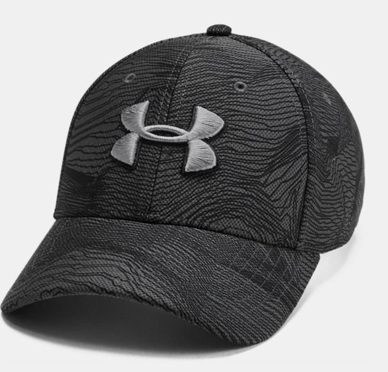 Gorra ajustable UA Blitzing 3.0 estampada para hombre