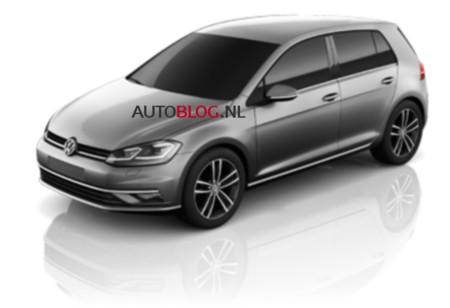 ¡Filtrado! El restyling del Volkswagen Golf está al llegar