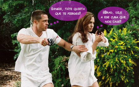 Brad Pitt y Angelina Jolie no se aguantan las ganas de pasar por la vicaría