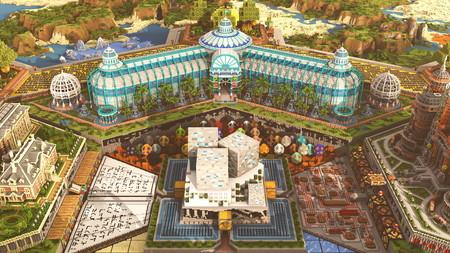 Minecraft celebra su décimo aniversario invitándonos a un espectacular parque temático virtual