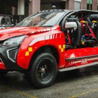El Red Rhino es el coche de bomberos más cañero que has visto recientemente