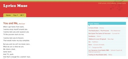 Lyrics Muse, accede a las letras de tus canciones favoritas en Last.fm
