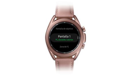 Samsung Galaxy Watch 3 Ejercicio Configurar Pantalla