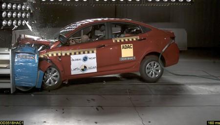 Latin NCAP deja con cero estrellas al Hyundai Accent hecho en Corea. El Ford Ka mejora su calificación