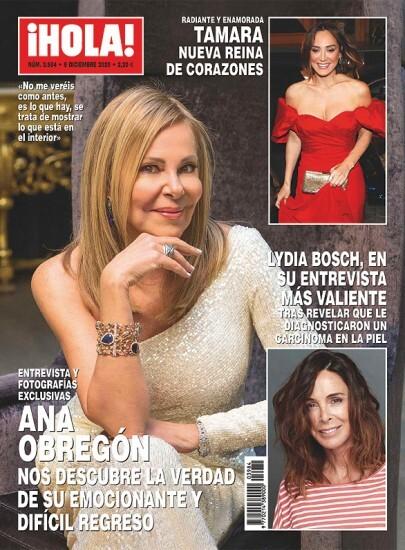 Portada Hola Ana Obregon