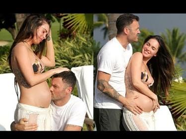 Megan Fox, ya no hay manera de que escondas barriga