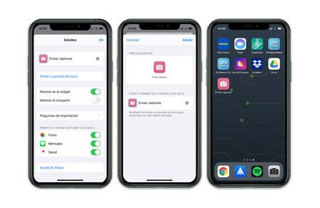 Iphone 11 Pro Atajo Ejemplo