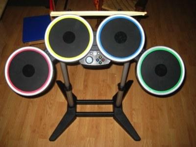 Utiliza el kit de batería de Rock Band en tu Mac