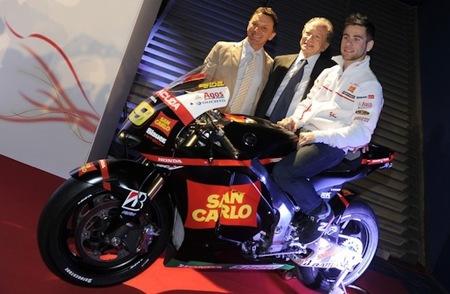 El San Carlo Honda Gresini presenta su proyecto 2012