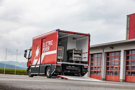 Camion Bomberos Electrico 4