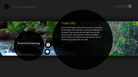 Naturespace, información de la pista de audio